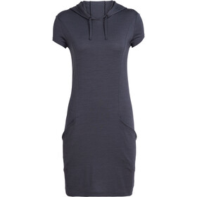 Icebreaker Yanni Hooded Dress Damen panther